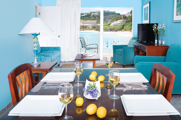 Two Bedroom Oceanfront Dining Room