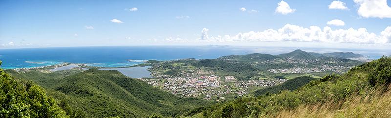 Sint Maarten Aerial taken in 2015